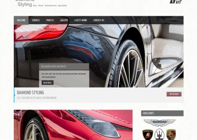 Diamond Styling – Website
