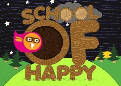 School of Happy – logo sound design