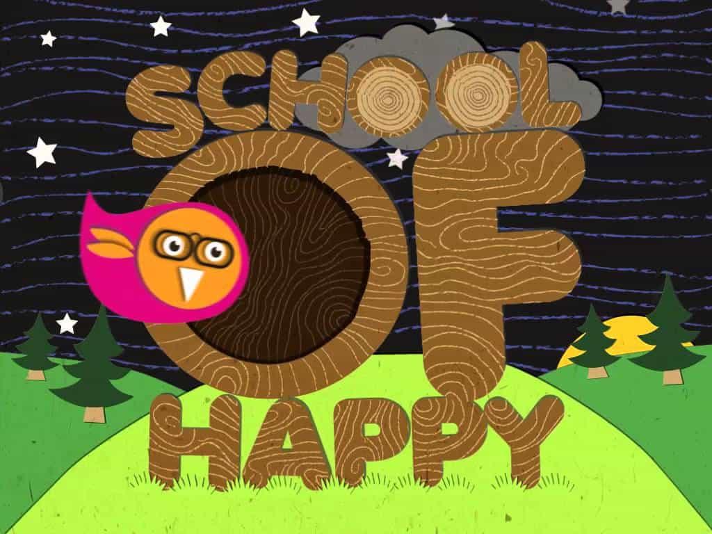 School of Happy – logo sound design